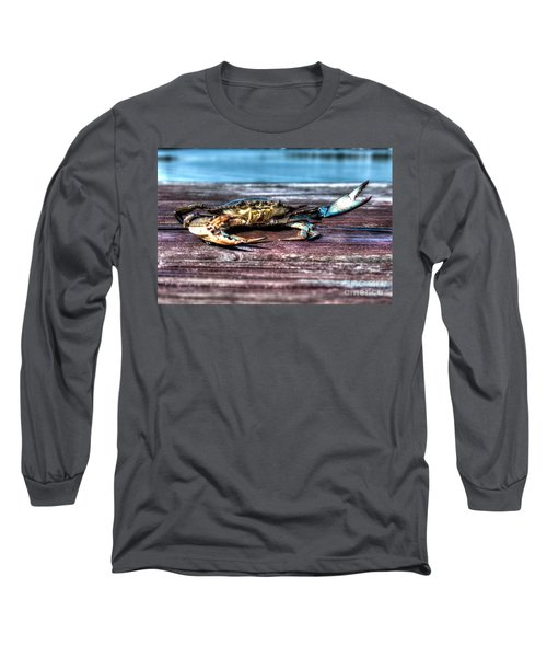 Blue Crab - Big Claws Long Sleeve T-Shirt