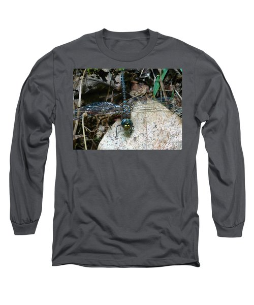 Blue Dragonfly  Long Sleeve T-Shirt