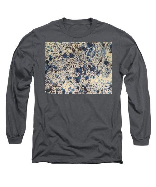 Blue Ecru Long Sleeve T-Shirt