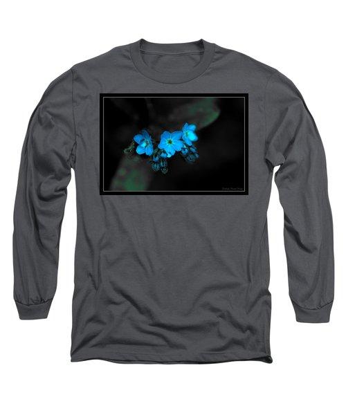 Blue Glow Long Sleeve T-Shirt