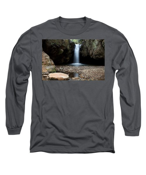 Long Sleeve T-Shirt featuring the photograph Blue Hole In Spring #2 by Jeff Severson
