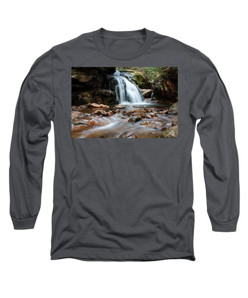 Long Sleeve T-Shirt featuring the photograph Blue Hole In Spring #3 by Jeff Severson