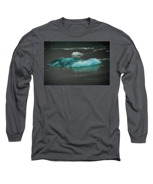 Blue Iceberg Long Sleeve T-Shirt