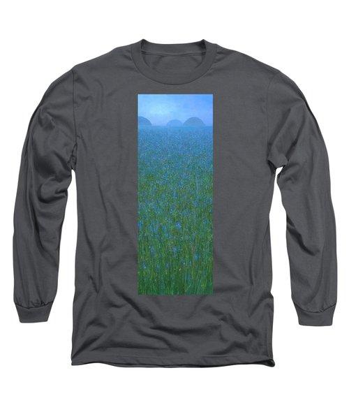 Blue Meadow 1 Long Sleeve T-Shirt