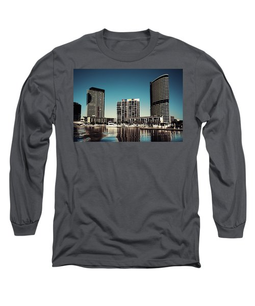 Blue Melbourne Long Sleeve T-Shirt