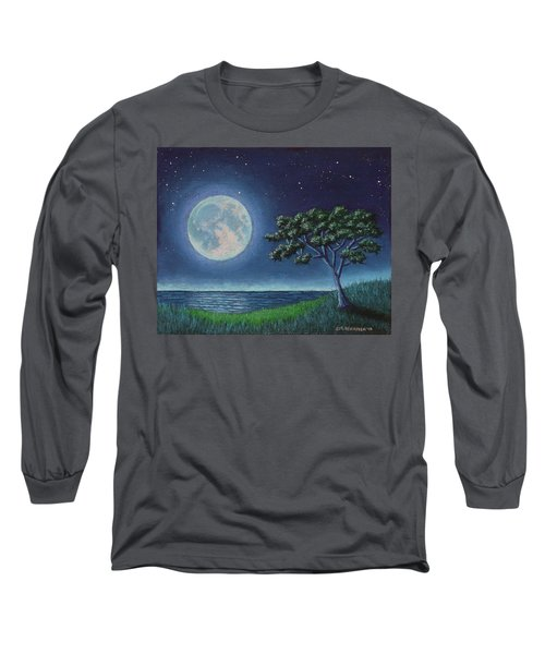 Blue Moon 01 Long Sleeve T-Shirt