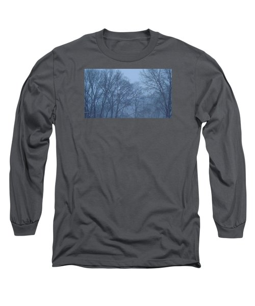 Long Sleeve T-Shirt featuring the photograph Blue Morning Mist by Don Koester