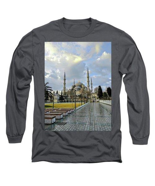 Blue Mosque Long Sleeve T-Shirt