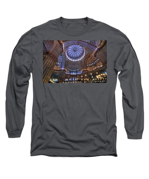 Blue Mosque Long Sleeve T-Shirt