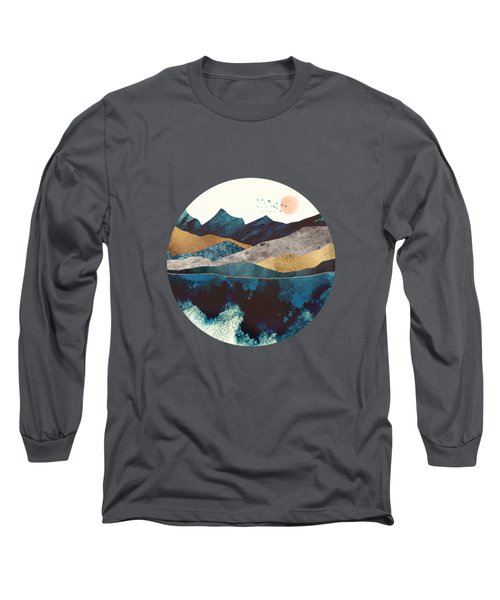 Blue Mountain Reflection Long Sleeve T-Shirt