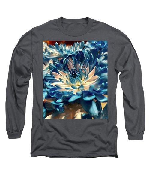 Blue Mum Long Sleeve T-Shirt