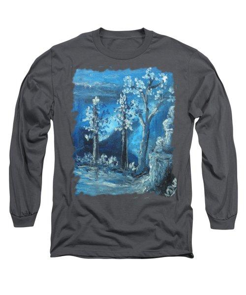 Blue Nature Long Sleeve T-Shirt