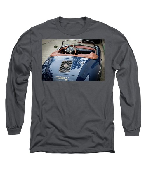 Blue Porche 356 Long Sleeve T-Shirt