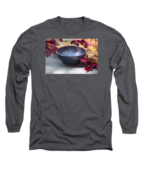 Blue Purple Bowl  Long Sleeve T-Shirt