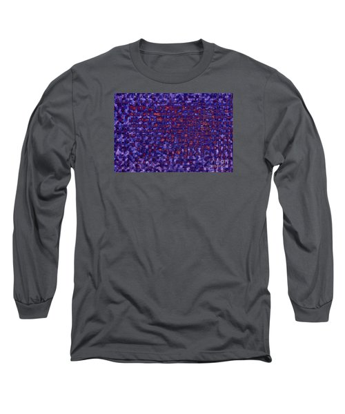 Blue Red Purples Long Sleeve T-Shirt