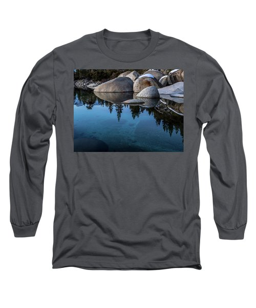Blue Reflections Long Sleeve T-Shirt