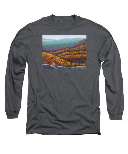 Blue Ridge Colors II			 Long Sleeve T-Shirt by Anne Marie Brown