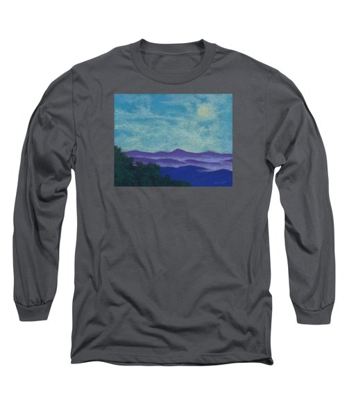 Blue Ridges Mist 1 Long Sleeve T-Shirt