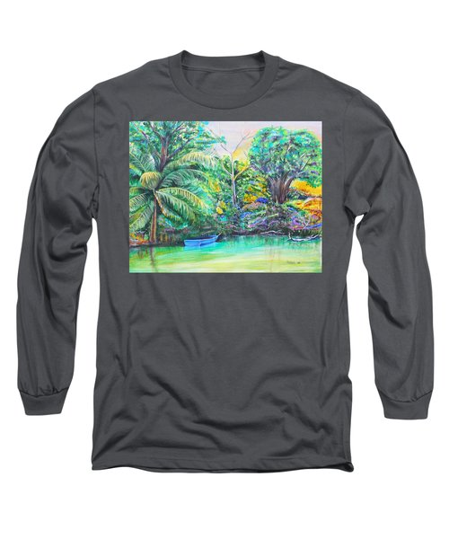 Blue Skiff Long Sleeve T-Shirt
