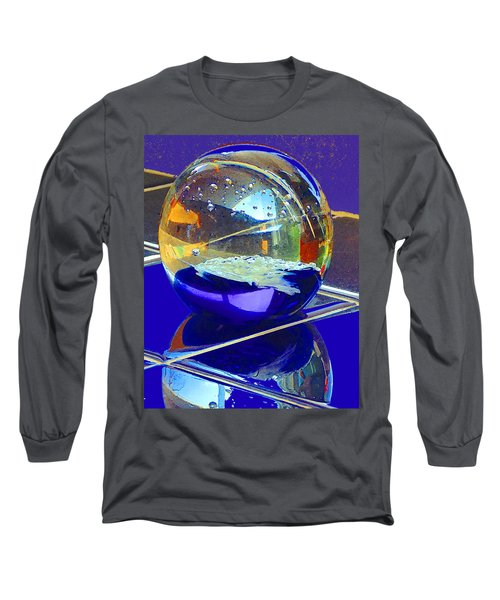 Blue Sphere Long Sleeve T-Shirt