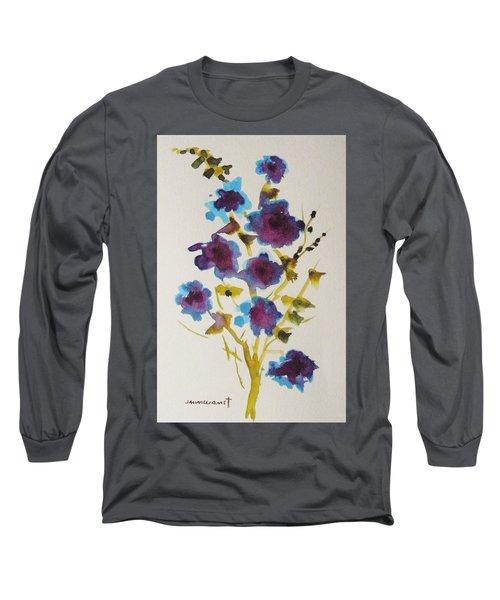 Blue Spring Long Sleeve T-Shirt