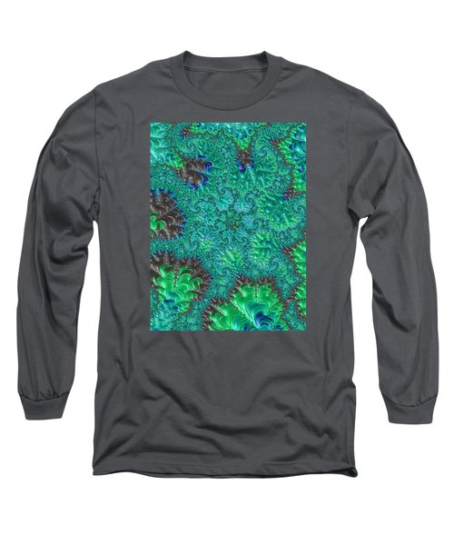 Long Sleeve T-Shirt featuring the photograph Blue Starfish by Ronda Broatch