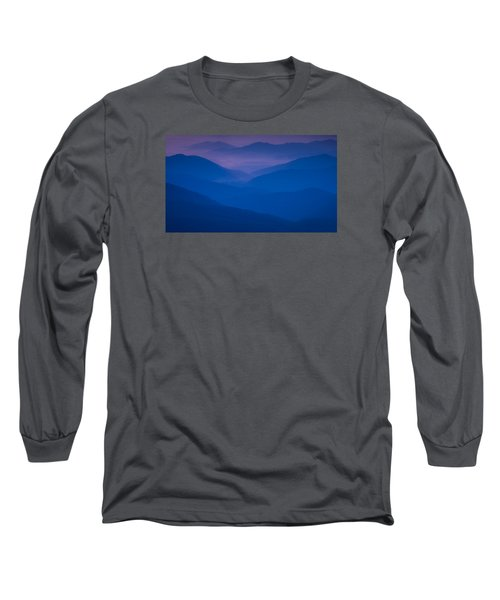 Blue Sunset Long Sleeve T-Shirt
