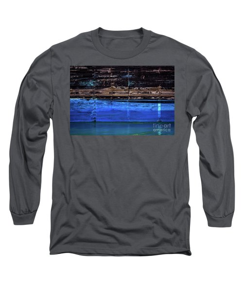 Blue Tanker Long Sleeve T-Shirt