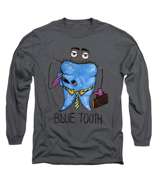 Blue Tooth Long Sleeve T-Shirt