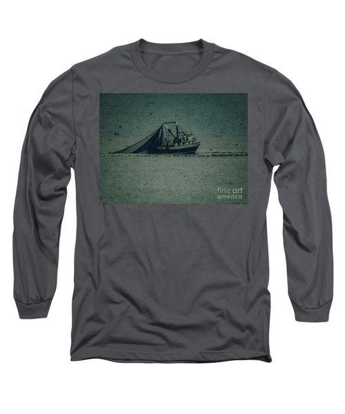 Blue Trawler 3 Long Sleeve T-Shirt