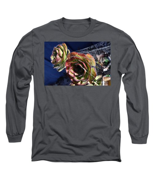 Blue Webs Long Sleeve T-Shirt