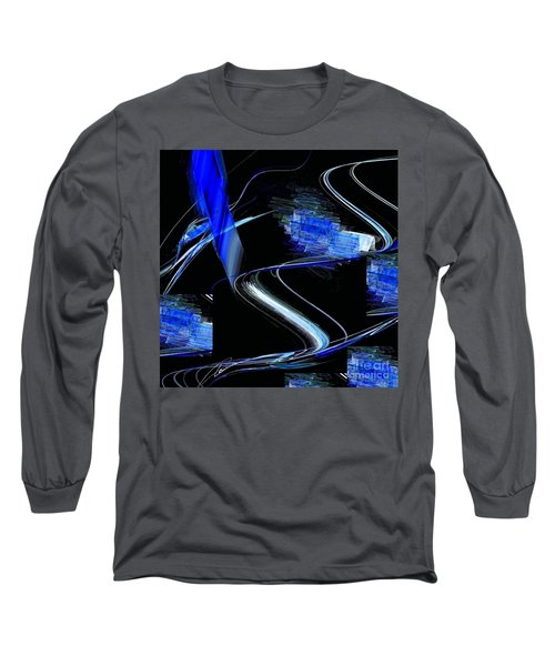 Blue1 Long Sleeve T-Shirt