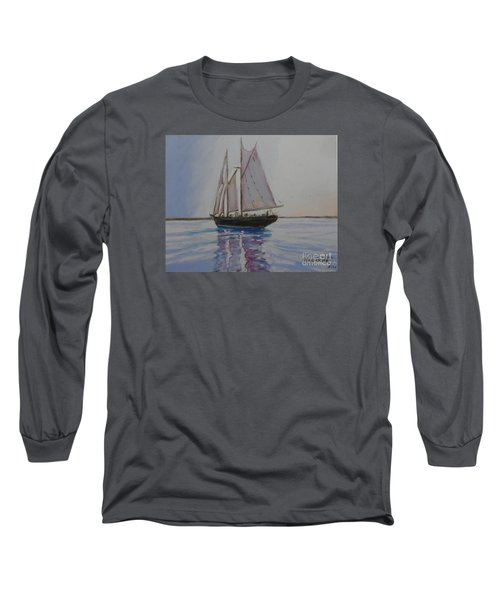 Bluenose Long Sleeve T-Shirt by Rae  Smith