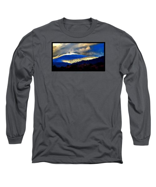 Blueray Winter New Mexico Long Sleeve T-Shirt by Susanne Still