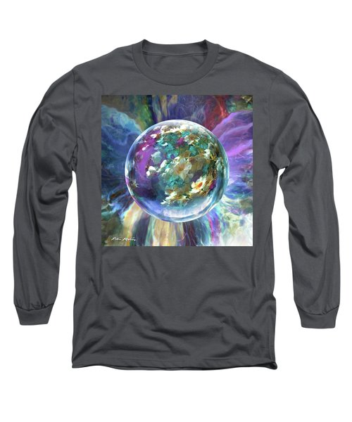 Blues Bouquet  Long Sleeve T-Shirt