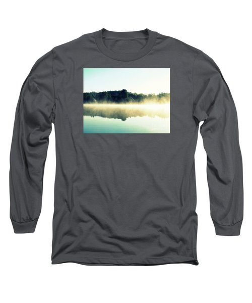 Blurry Morning Long Sleeve T-Shirt by France Laliberte