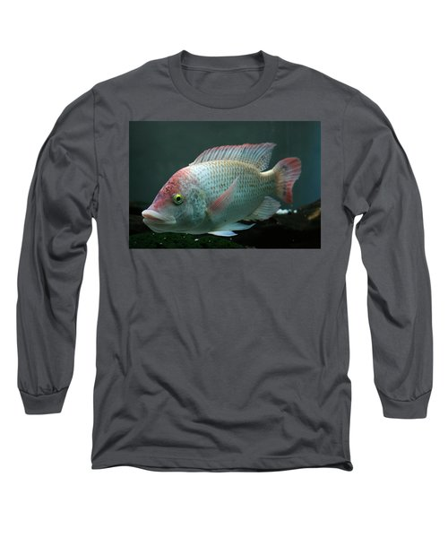 Blushing Tilapia Long Sleeve T-Shirt