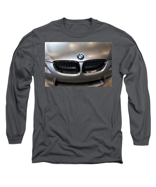 Long Sleeve T-Shirt featuring the photograph Bmw M3 Hood by Aaron Berg