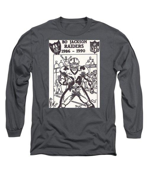 Bo Jackson 1 Long Sleeve T-Shirt