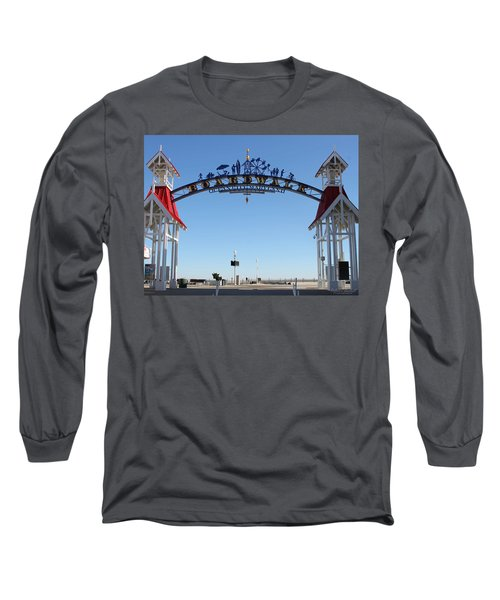 Boardwalk Arch At N Division St Long Sleeve T-Shirt