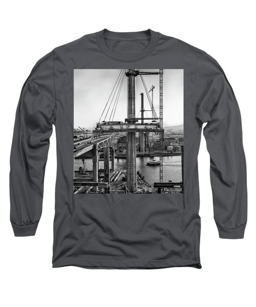 Boat Under Desmond Long Sleeve T-Shirt