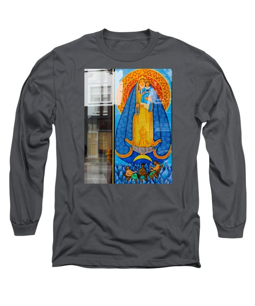 Boat Under Mary Long Sleeve T-Shirt