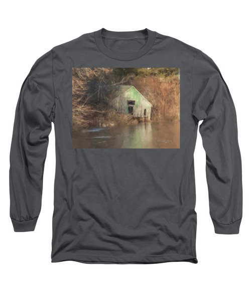 Boathouse On Solstice Long Sleeve T-Shirt