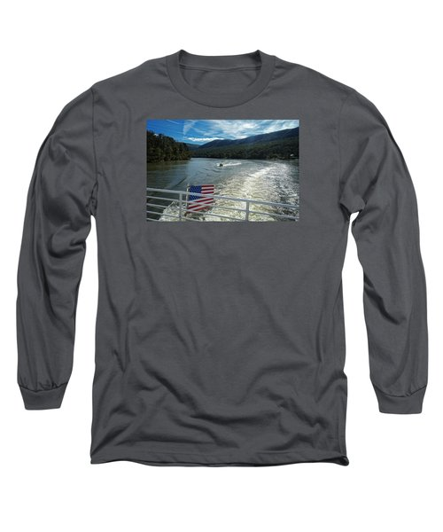 Boating On The River Long Sleeve T-Shirt