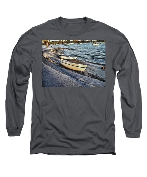 Boats At The Bay Long Sleeve T-Shirt
