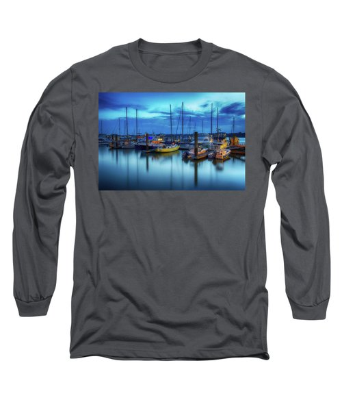 Boats In The Bay Long Sleeve T-Shirt