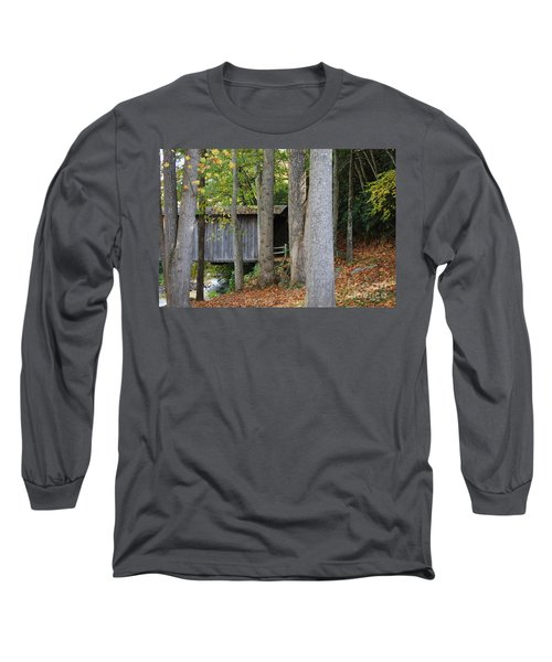 Bob White Long Sleeve T-Shirt by Eric Liller