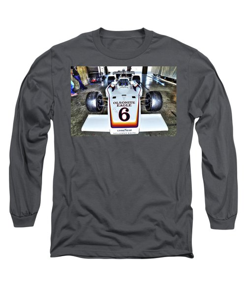 Bobby Unser's 1972 Indianapolis 500 Car. Long Sleeve T-Shirt