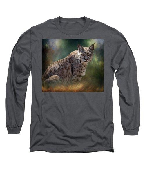 Bobcat Gaze Long Sleeve T-Shirt