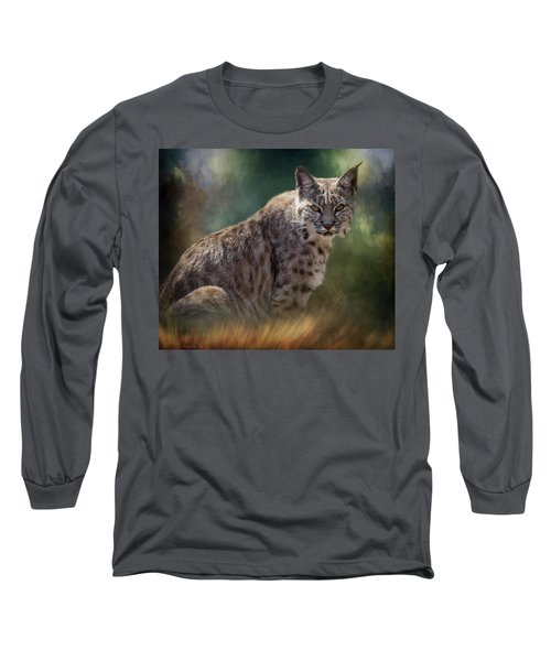 Bobcat Gaze Long Sleeve T-Shirt